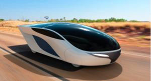 Fig. 9.Concept di nuovo veicolo solare (cortesia Marko Lukovic)