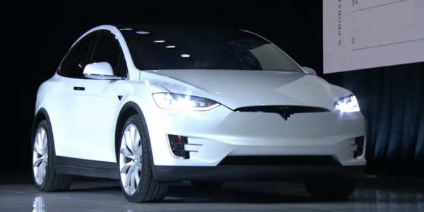 Tesla Model X, la presentazione di Elon Musk – Credit TeslaMotors – 1