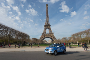 Fuel Cell Taxi in Paris  (2)