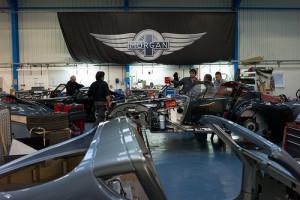 photo credit: Final Morgan Aero Supersports Assembly Line via photopin (license)