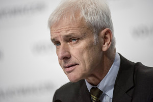 Matthias Müller, Chairman of the Board of Management of Volkswagen AG.
