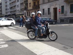eS2 - scooter elettrico a 2 posti