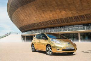 Nissan LEAF golden_02
